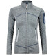 Ortovox W's Melange Fleece Jacket Light Grey Blend